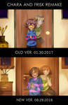 CHARA AND FRISK - REMAKE