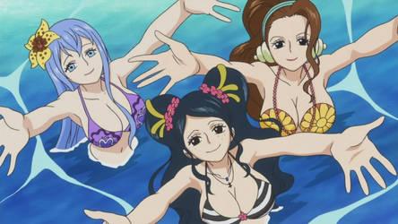 Mermaids - One Piece by Berg-anime