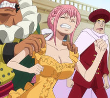Rebecca in episode 886 - One Piece by Berg-anime