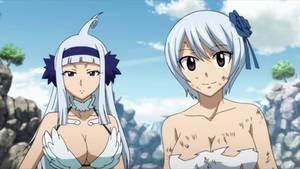 Sorano and Yukino - Fairy Tail Final Series ep 33 by Berg-anime