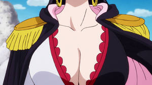 Boa Hancock sexy cleavage - One Piece ep 896