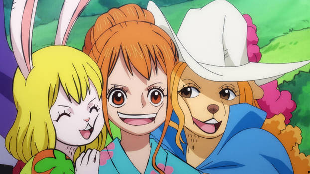 Carrot, Nami and Wanda - One Piece 959