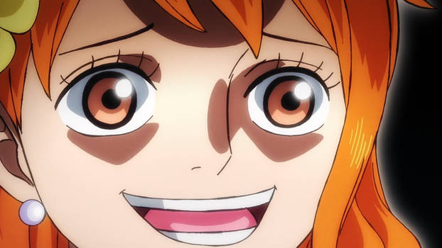 Nami in ep 996 - One Piece