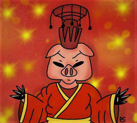 Year of the Pig by BrownbearEdurardo