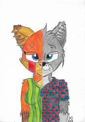 Daniel X Micah (Finished Art) by BrownbearEdurardo