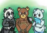 We Bare Bears (Pokemon Edition) by BrownbearEdurardo