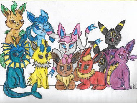 The Eeveelutions
