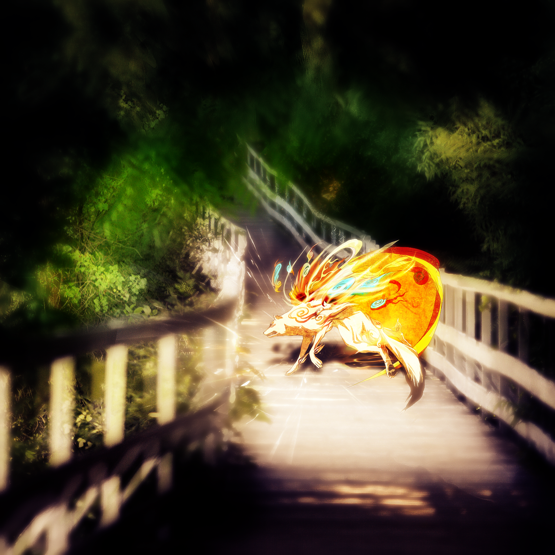 Okami Poster by CloneLinkOkami Scenery