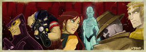 who draws the watchmen? by BLACK-STA