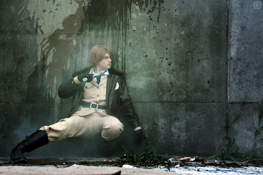 APH: waiting -CW shoot 7- by FrauDoku