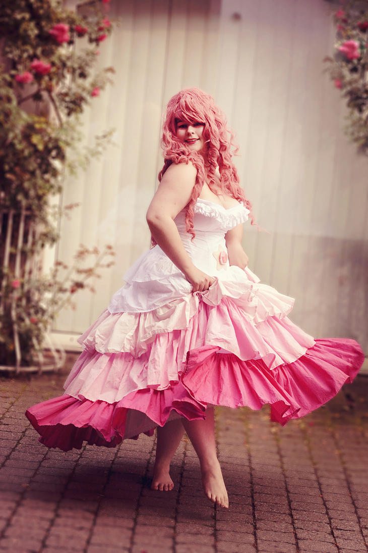 Steven universe rose quartz cosplay 2 by fraudoku on - Rose quartz steven universe wallpaper ...