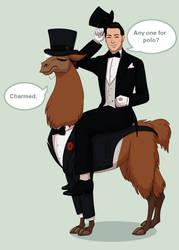 Fancy Llama by DJCoulz