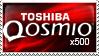 Toshiba Qosmio x500 stamp by DJCoulz
