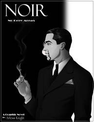 Noir Graphic Novel Cover by DJCoulz