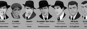 Noir Lead Character Lineup