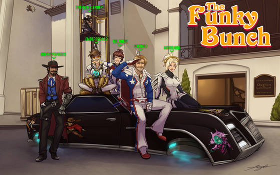 The Funky Bunch Overwatch crew