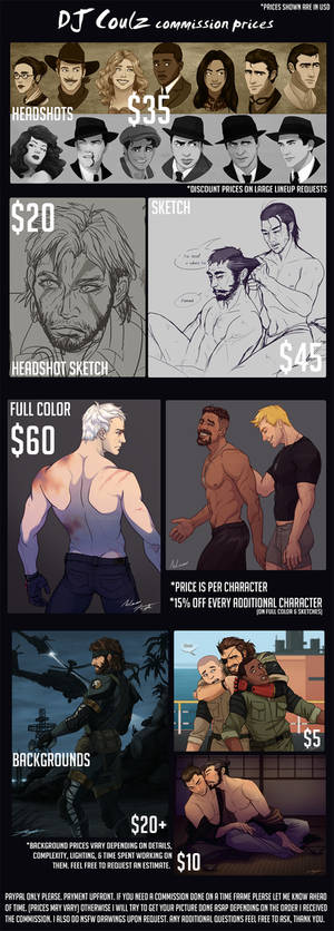 2017 Commission Prices