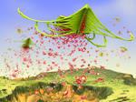 Fractals sowing fractals