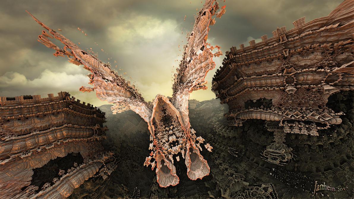 Narrow Escape by janhein