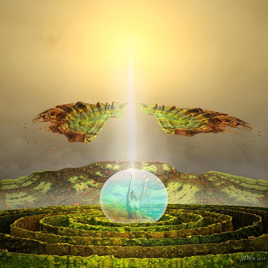 Rebirth in Fermat's Spiral by janhein