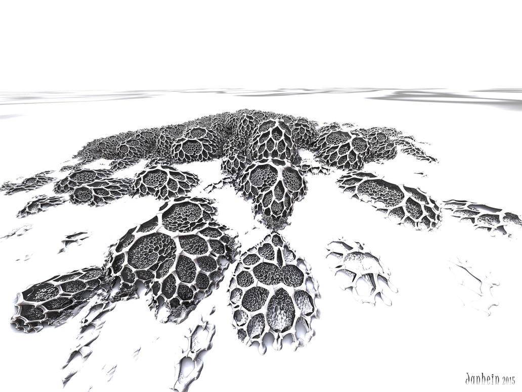 Frozen fractals by janhein