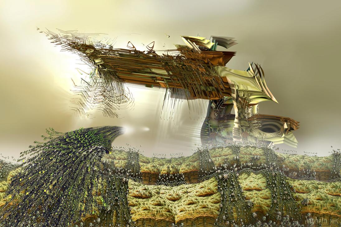Fractal war by janhein