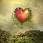 Mysterious appearance of a heart by janhein