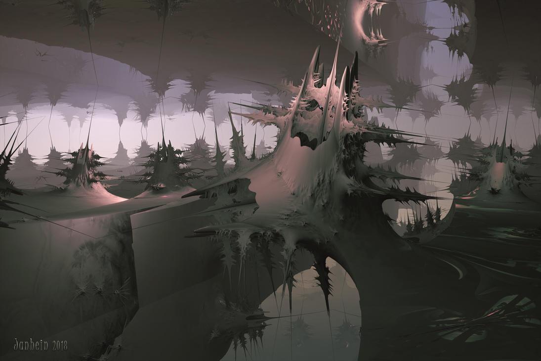 Strange mutated buildings by janhein