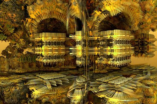 Temple of fractal delights