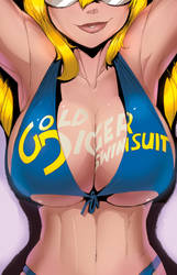 GD Swimsuit cover 2011 by FredGDPerry