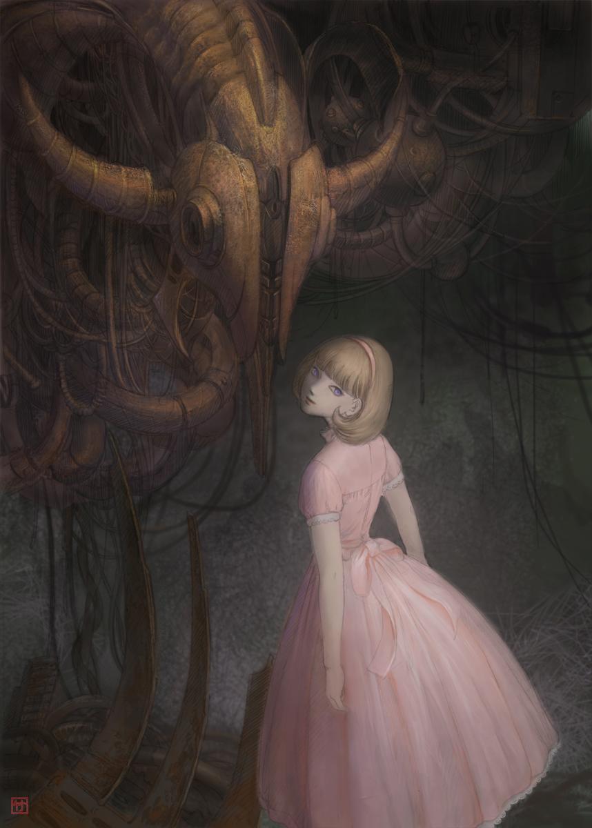 Pink Dress by TaKe-bamboo