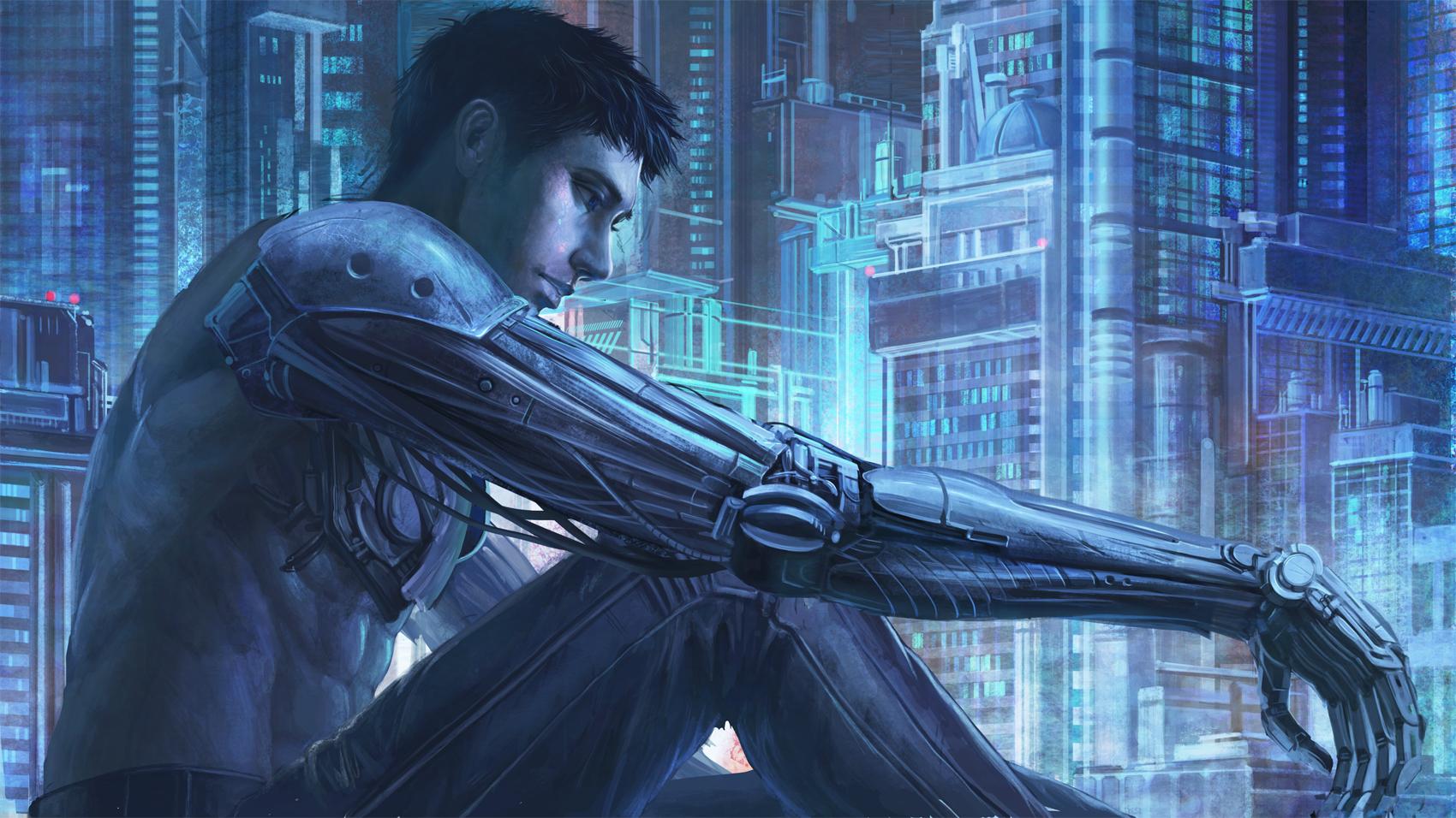 Cyborg by TaKe-bamboo