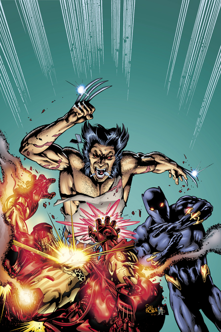 Wolvie tears a new one by ColorDojo