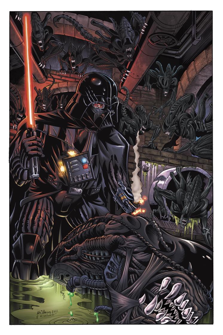 Alien vs Vader
