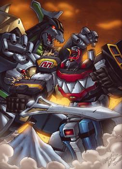 We need Megazord Power NOW!!