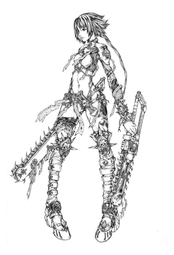 Warhammer: inquisitor by muju