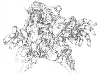 Celestial Hound by muju