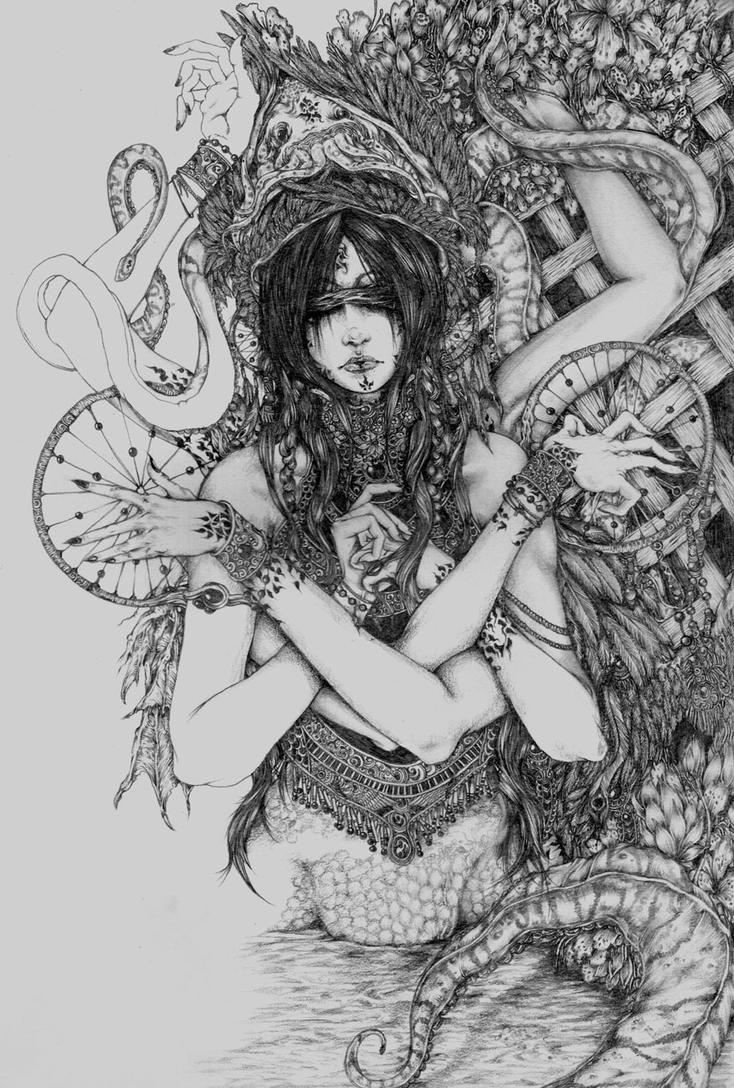 Old stuff - dreamcatcher by muju
