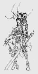 Satyrix by muju