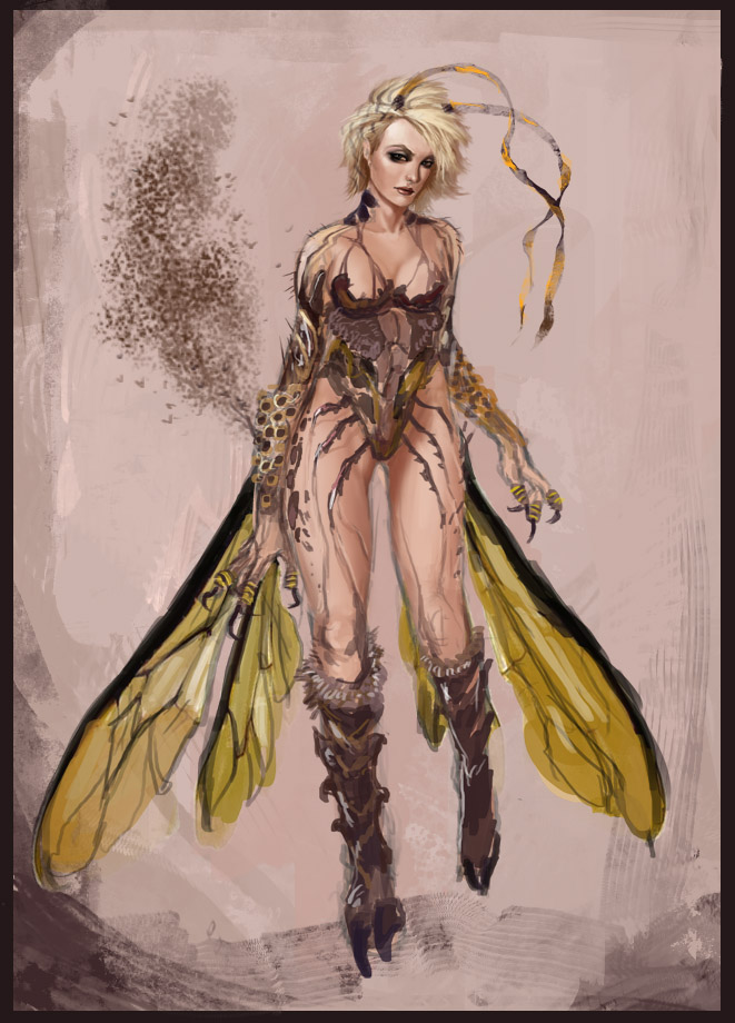 Honey Queen concept by muju