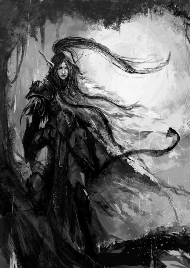 Huntress by muju