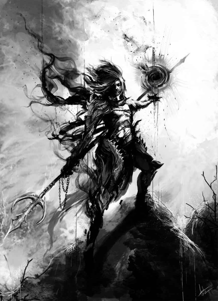 COMMISSION - Death Knight Argon by muju