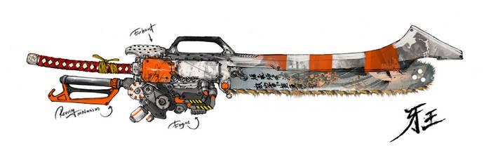 Huntsman's axe concept