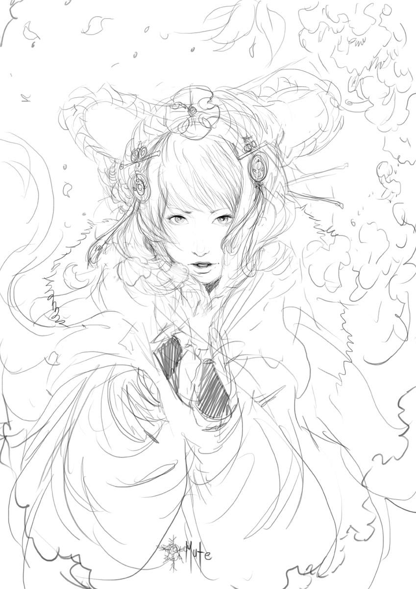 *Mute 3.0 -sketch- by muju