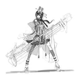 Project Cool Story - Rocker Girl by muju