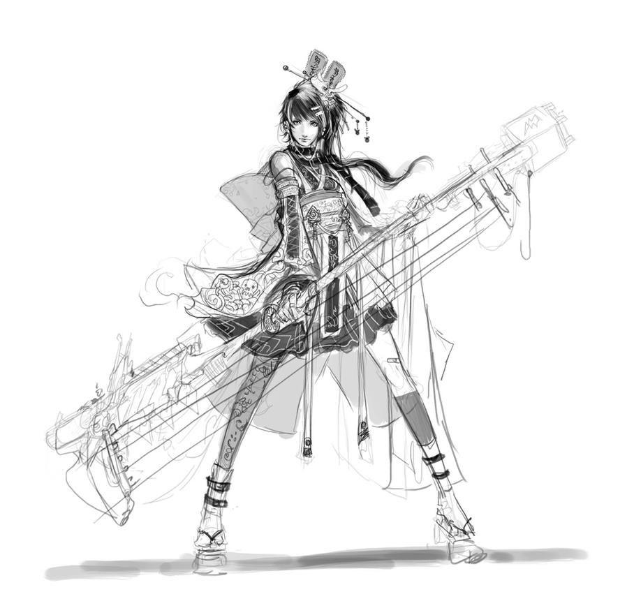 Project Cool Story - Rocker Girl by muju