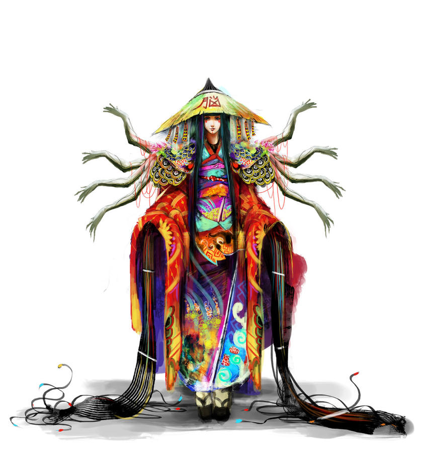 Project Cool Story - Data Priestess by muju