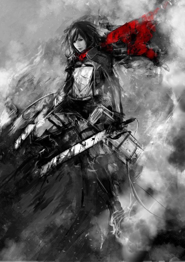 Mikasa Ackerman by muju