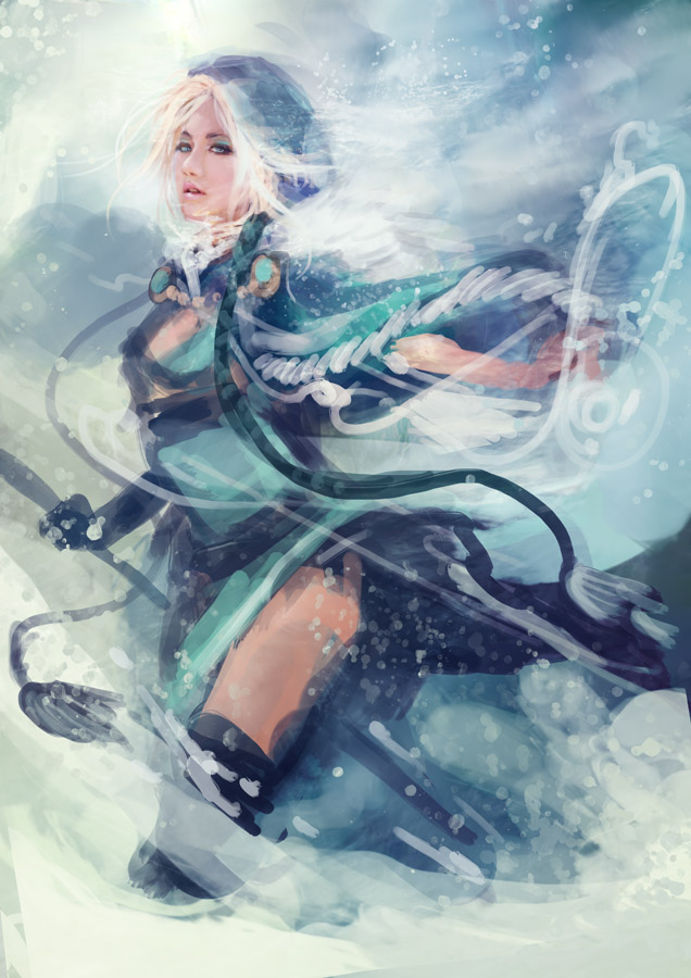 crystal maiden android