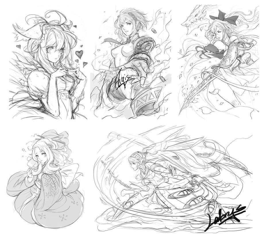 Stream Sketches by muju